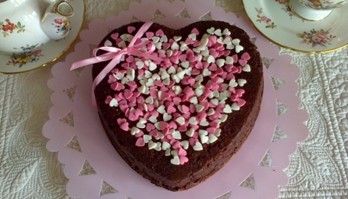 Brownie San Valentin